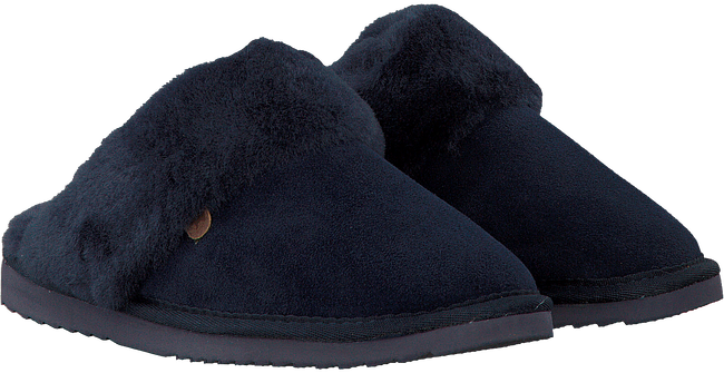 Blauwe WARMBAT Pantoffels FLURRY WOMEN SUEDE - large