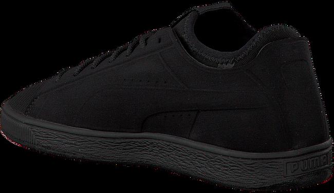 Zwarte PUMA Sneakers BASKET CLASSIC SOCK LO MEN  - large
