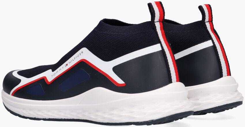 Blauwe TOMMY HILFIGER Hoge sneaker 32083  - larger