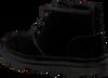 Zwarte UGG Veterboots KIDS NEUMEL  - small