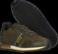 Groene BOSS KIDS Lage sneakers BASKETS  - medium