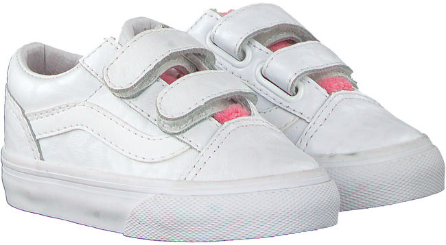 Witte VANS Sneakers TD OLD SKOOL V WHITE GIRA  - large