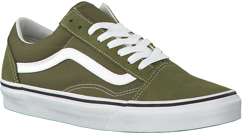 old skool vans groen
