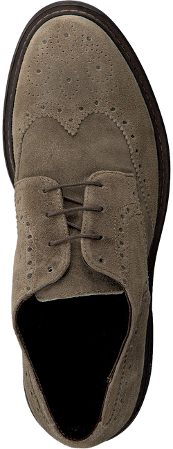 Taupe HUNDRED 100 Veterschoenen M681  - large