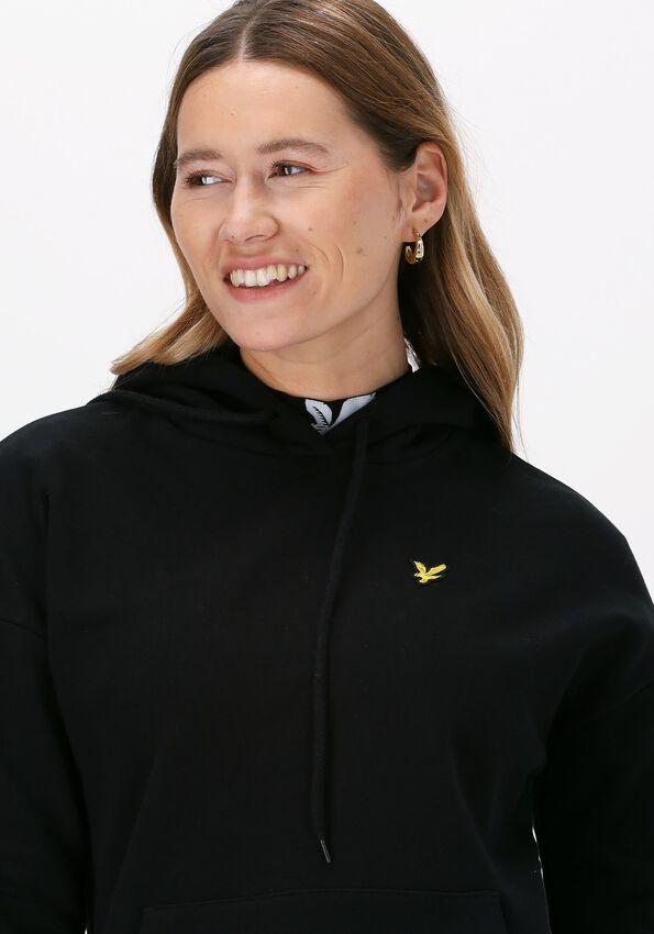 Zwarte LYLE & SCOTT Sweater HOODIE  - larger