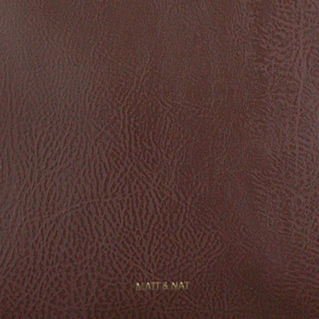 Bruine MATT & NAT Shopper ABBI TOTE  - large