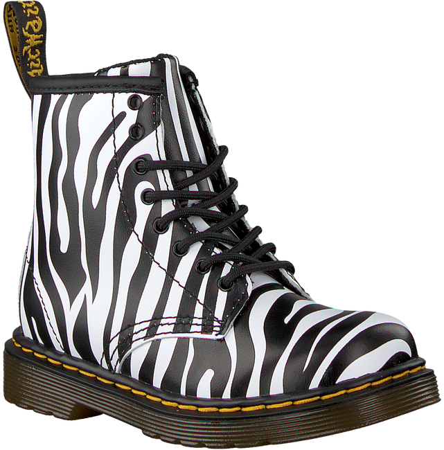 Witte DR MARTENS Veterboots DELANEY/BROOKLY - large
