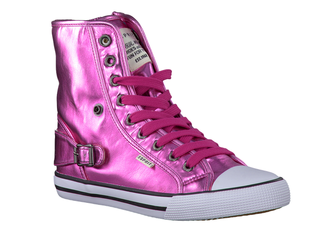 Roze ESPRIT Sneakers BENNY METAL  - large