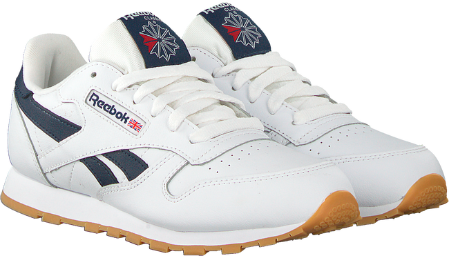 Witte REEBOK Sneakers CLASSIC LEATHER KIDS  - large
