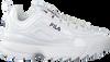 Witte FILA Sneakers DISRUPTOR M LOW WMN  - small