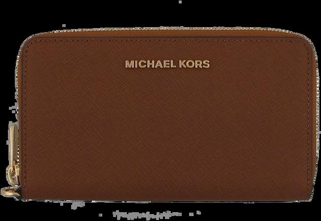 Cognac MICHAEL KORS Portemonnee LG FLAT MF PHONE CASE - large