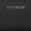 Zwarte TOMMY HILFIGER Portemonnee ITEM STATEMENT LRG ZA  - small