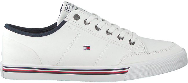 Witte TOMMY HILFIGER Lage sneakers CORE CORPORATE  - large