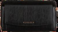 Zwarte LOULOU ESSENTIELS Portemonnee SLB CLASSY CROC  - medium