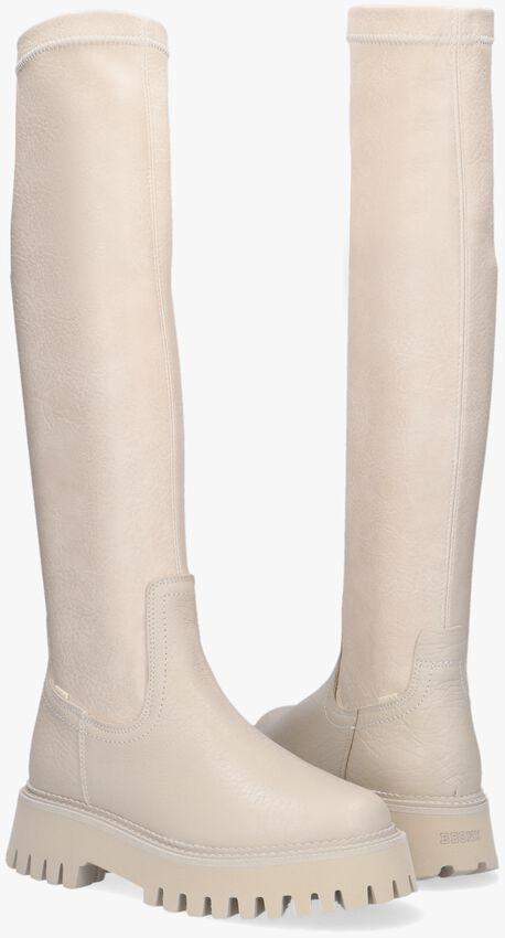 Witte BRONX Hoge laarzen GROOV-Y 14211  - larger