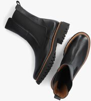 Zwarte PAUL GREEN Chelsea boots 9836  - medium