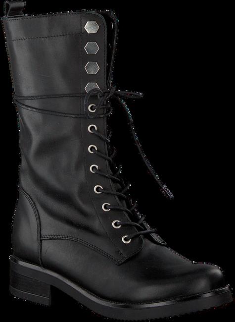 Zwarte NIKKIE Biker boots HEXAGON ARMY BOOTS - large