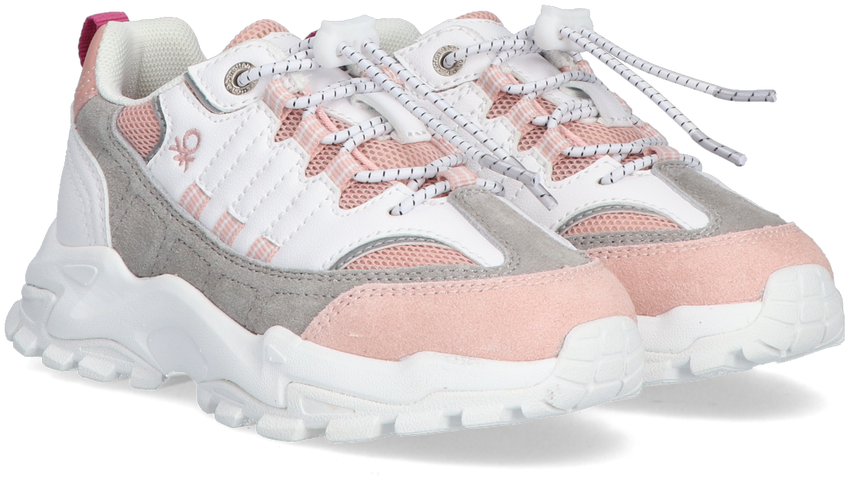 Witte BENETTON Lage sneakers MOTION MX COLORS  - larger