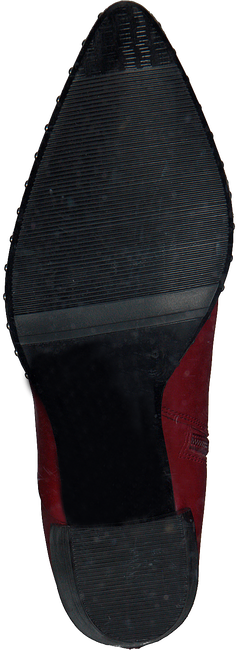 Rode BRONX Enkellaarsjes 34047 - large