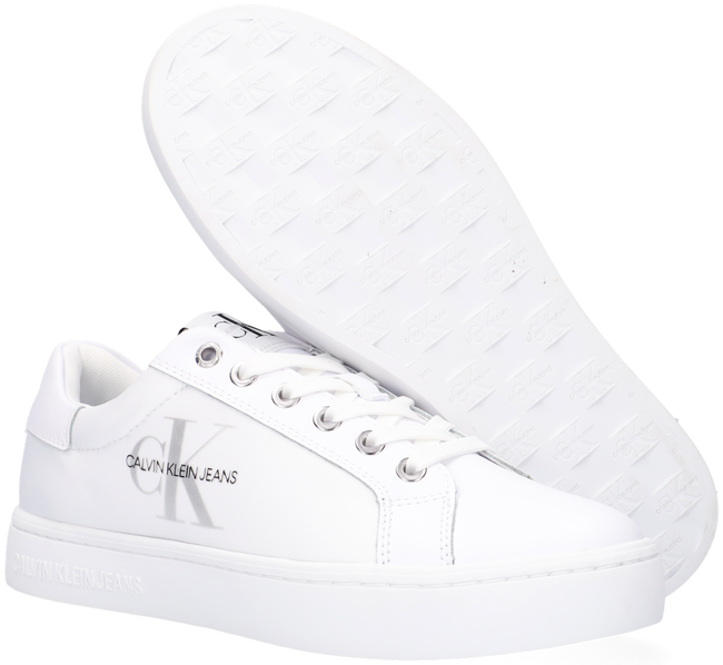 Witte CALVIN KLEIN Lage sneakers CUPSOLE SNEAKER LACEUP  - large