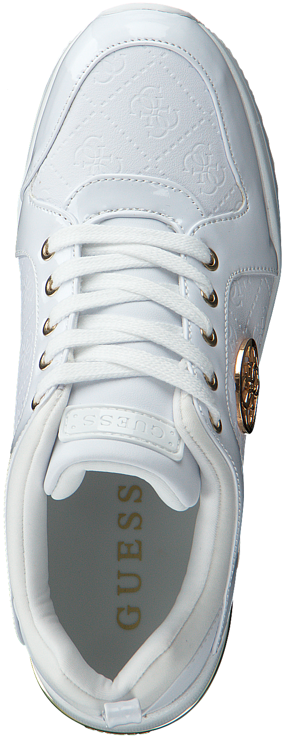 Witte GUESS Lage sneakers JARYDS Omoda.nl