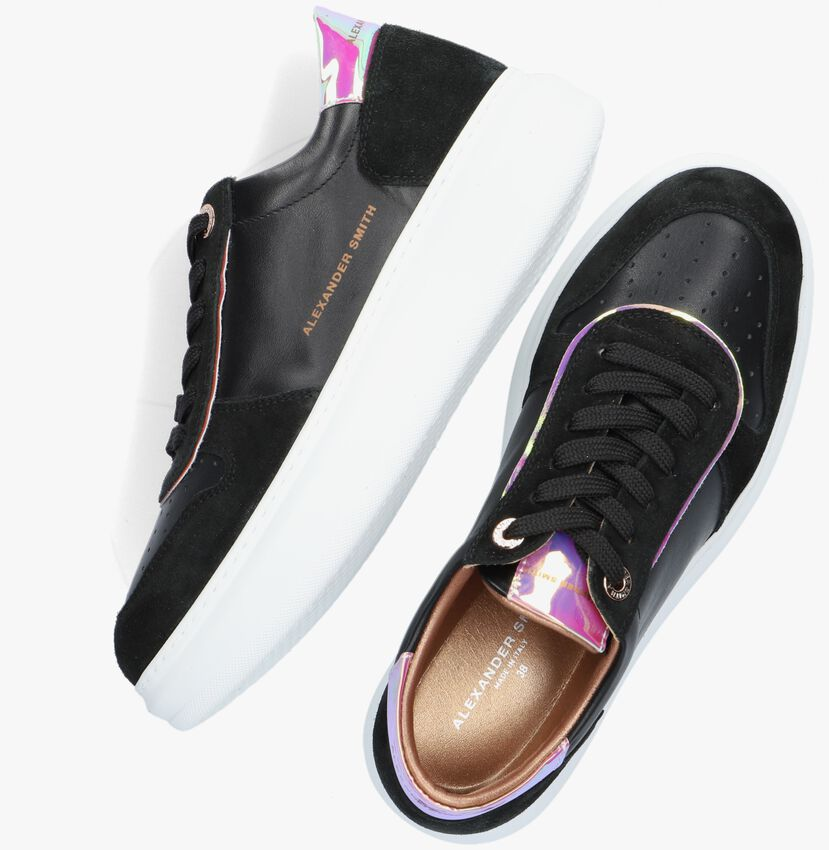 Zwarte ALEXANDER SMITH Lage sneakers CAMBRIDGE  - larger