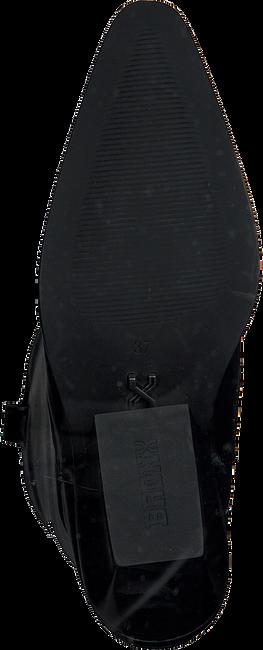 Zwarte BRONX Hoge laarzen LOW-KOLE 14188  - large