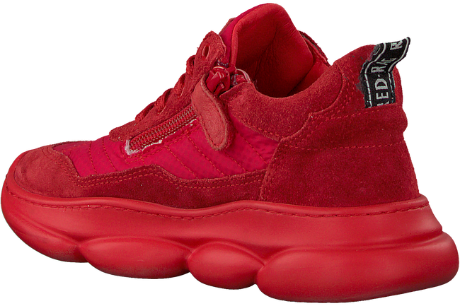 Rode RED-RAG Lage sneakers 13483  - large