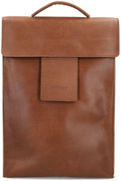 Bruine MYOMY Rugtas MY HOME BAG BACKBAG  - medium