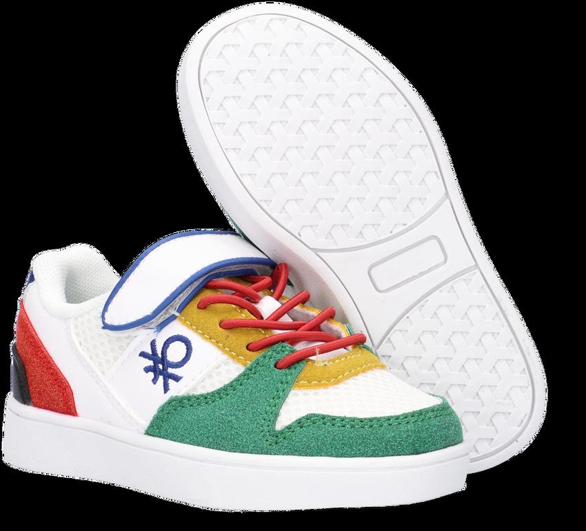 Witte BENETTON Lage sneakers ALLY MX VELCRO  - larger