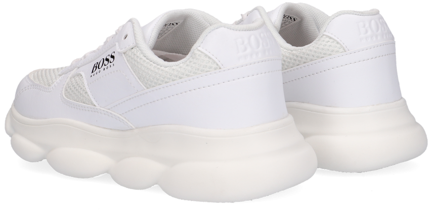 Witte BOSS KIDS Lage sneakers BASKETS  - larger