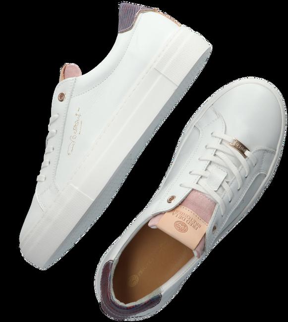 Witte FRED DE LA BRETONIERE Lage sneakers 101010188  - large