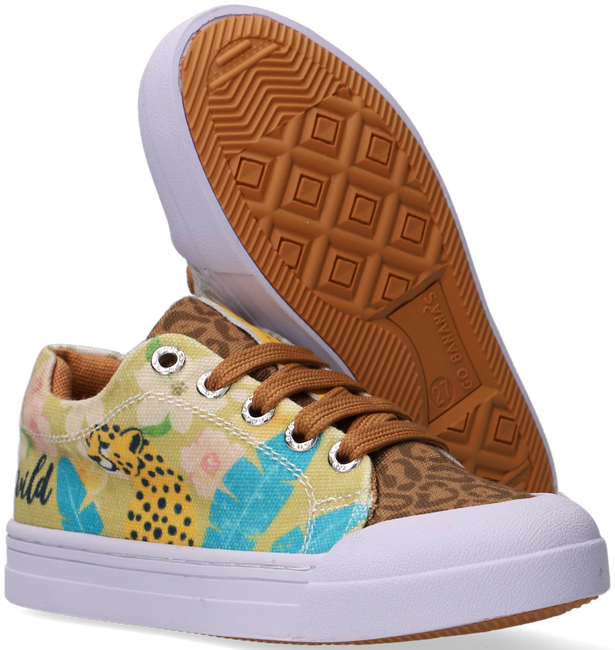 Bruine GO BANANAS Lage sneakers GB_LEOPARD-L  - large