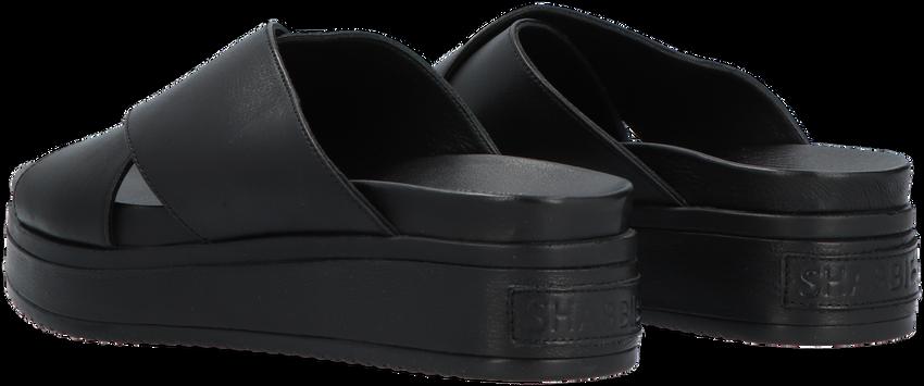 Zwarte SHABBIES Slippers 170020162  - larger