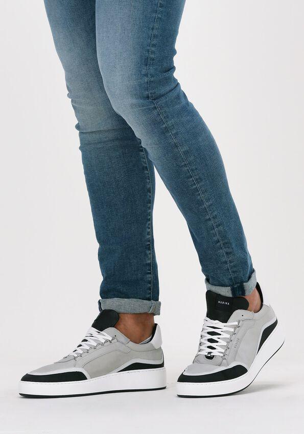 Grijze NUBIKK Lage sneakers JIRO JONES  - larger
