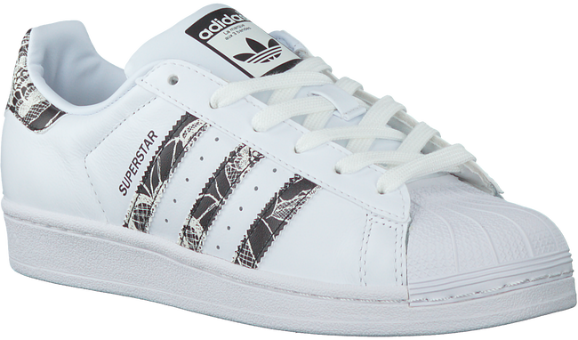 Witte ADIDAS Sneakers SUPERSTAR DAMES  - large