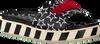 Zwarte TOMMY HILFIGER Slippers TOMMY JEANS SLIDE FLATFORM  - small
