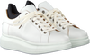 Witte SHABBIES Sneakers 101020032  - small