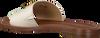 Witte MICHAEL KORS Slippers BRYNN SLIDE  - small