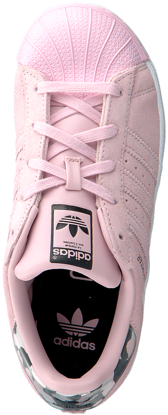 Roze ADIDAS Sneakers SUPERSTAR C - larger