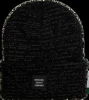 Zwarte HERSCHEL  Muts REFLECTIVE ABBOTT - medium