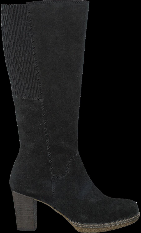 Zwarte GABOR Lange laarzen 876   Omoda