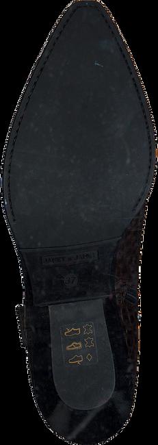 Bruine JANET & JANET Enkellaarzen MIRANDA  - large