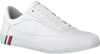 Witte TOMMY HILFIGER Lage sneakers CORPORATE PREMIUM  - small