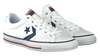 Witte CONVERSE Sneakers STAR PLAYER OX  - small