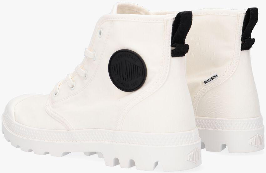 Witte PALLADIUM Hoge sneaker W PAMPA HI TWILL  - larger