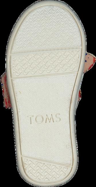 Rode TOMS Instappers ALPARGATA  - large