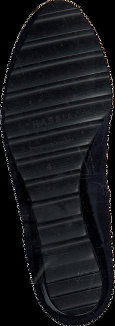 Blauwe HASSIA Enkellaarsjes 2183 - large