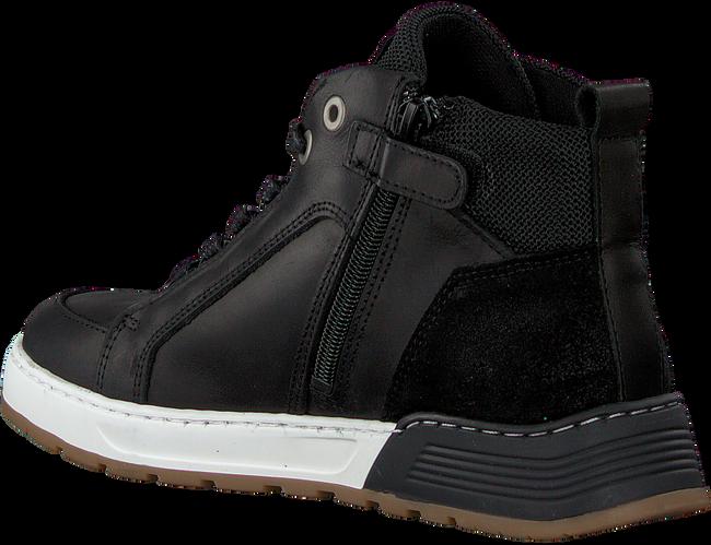 Zwarte OMODA Hoge sneaker A0F500E6L_BLCKOM  - large