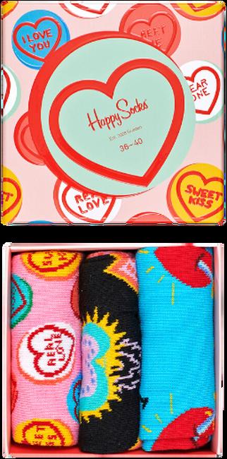 Multi HAPPY SOCKS Sokken I LOVE YOU GIFT BOX  - large